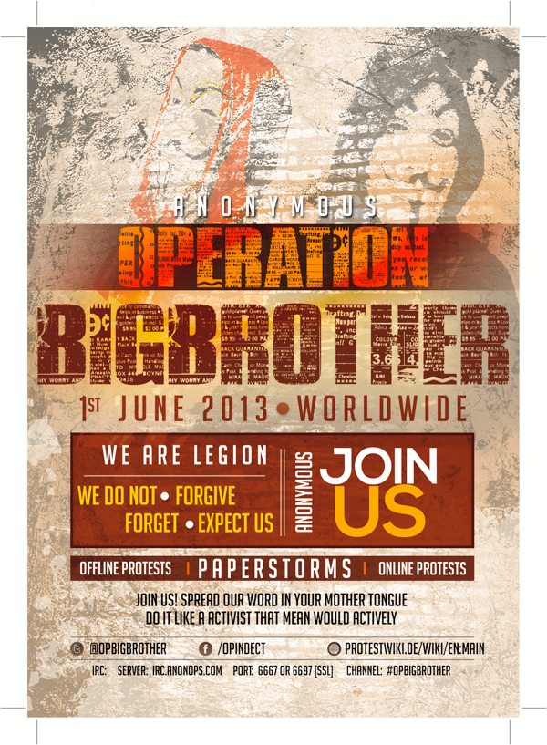 Operation BigBrother poster